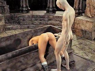 3d Zombie Fucks Lara Croft Upornia Com